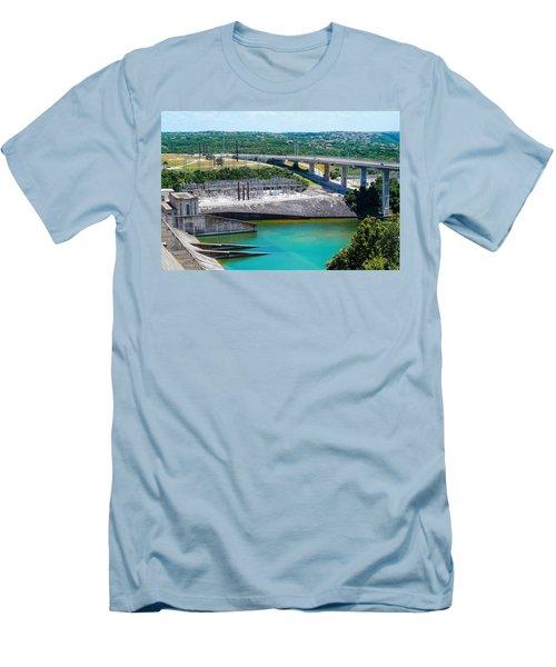 The River Flows Men's T-Shirt (Athletic Fit)