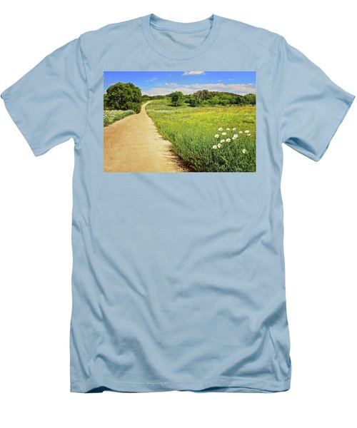 The Road Home Men's T-Shirt (Slim Fit) by Lynn Bauer