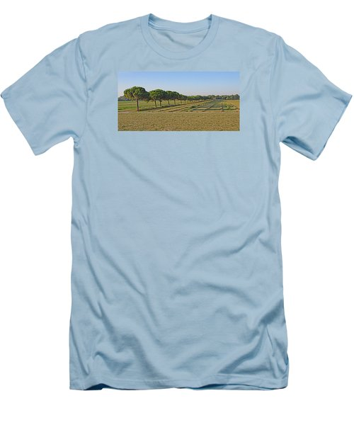 The Source Of Pine Nuts  Men's T-Shirt (Slim Fit) by Allan Levin