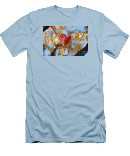 Men's T-Shirt (Slim Fit) featuring the photograph The Splendor Of Fall by Debra Thompson