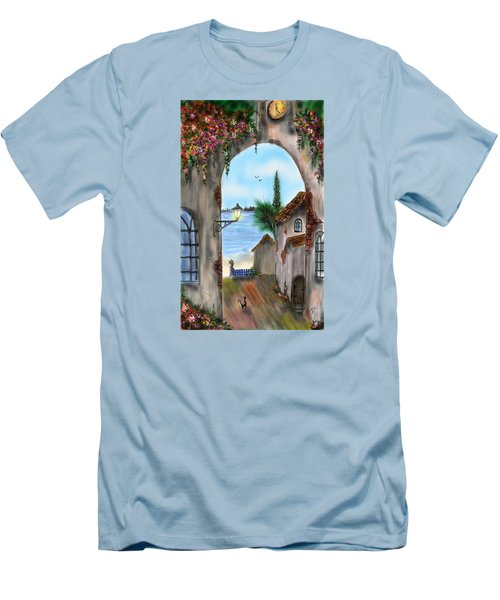 The Street Men's T-Shirt (Slim Fit) by Darren Cannell