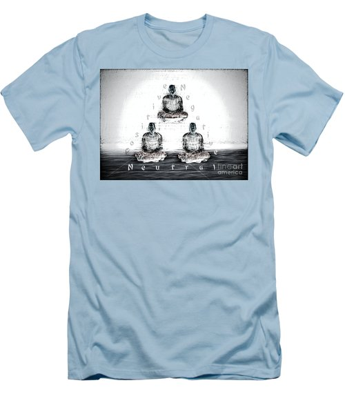 The Triangle Of Decision Men's T-Shirt (Athletic Fit)