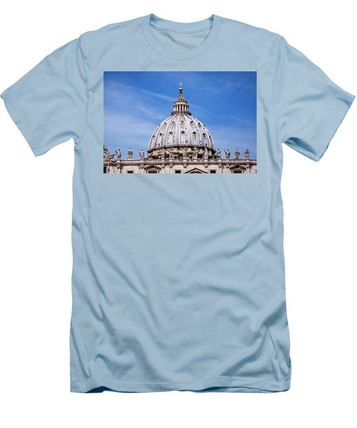 The Vatican Men's T-Shirt (Slim Fit) by Nick  Shirghio