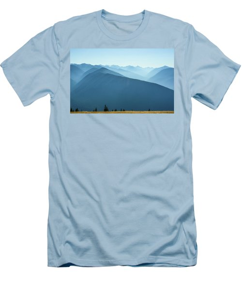 The View From Hurricane Ridge Men's T-Shirt (Athletic Fit)
