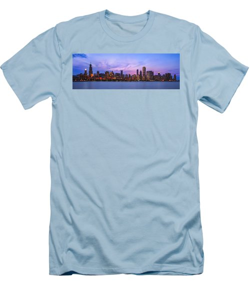 The Windy City Men's T-Shirt (Slim Fit) by Scott Norris