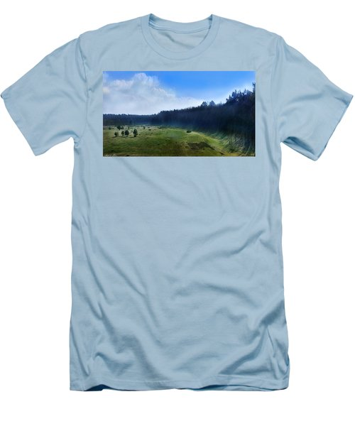 These Days Men's T-Shirt (Slim Fit) by Bernd Hau