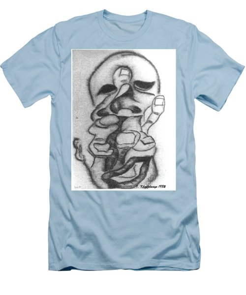 Thoughts And Thinking  Men's T-Shirt (Athletic Fit)