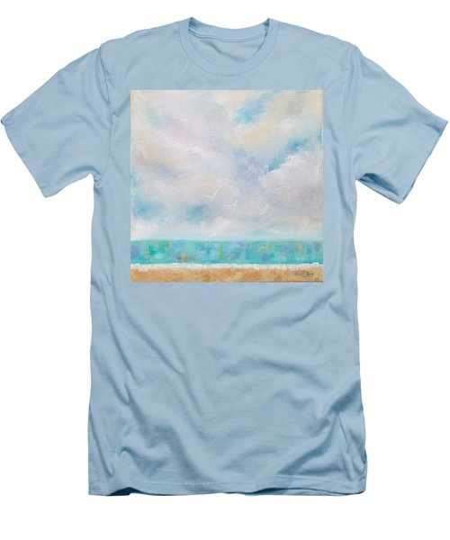 Three By The Sea Men's T-Shirt (Athletic Fit)