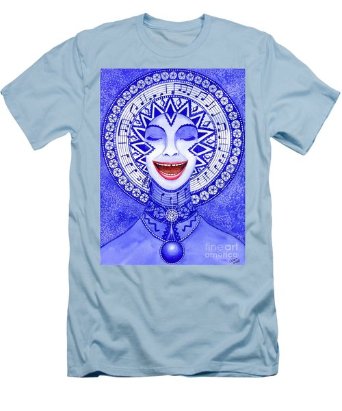 Throat Chakra Men's T-Shirt (Athletic Fit)
