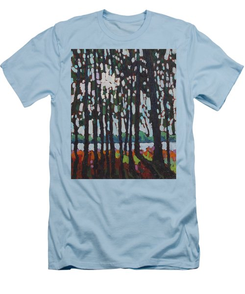 Through The Opinicon Forest Men's T-Shirt (Athletic Fit)