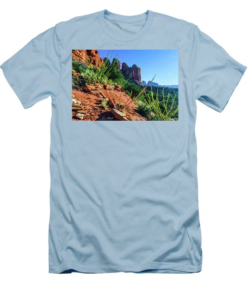 Thunder Mountain 07-006 Men's T-Shirt (Athletic Fit)