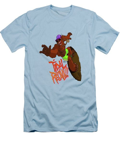 Tidal Recall  Men's T-Shirt (Athletic Fit)