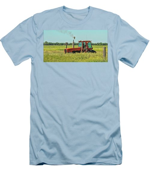 Time To Mow Men's T-Shirt (Athletic Fit)