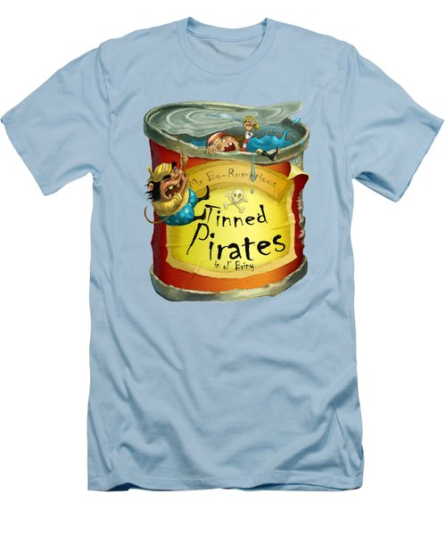 Tinned Pirates Men's T-Shirt (Slim Fit) by Andy Catling