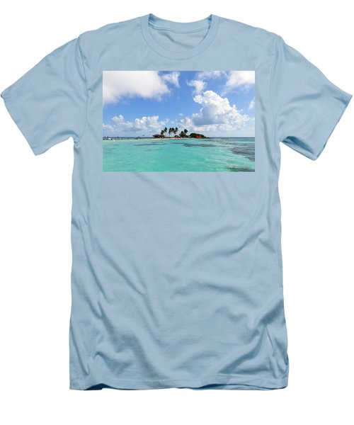 Tiny Island Men's T-Shirt (Athletic Fit)