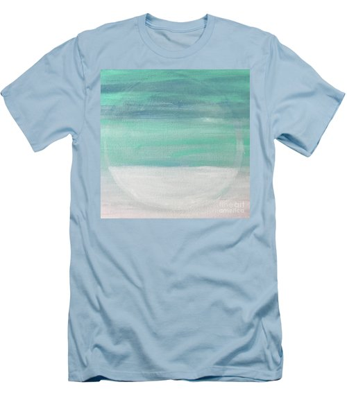 Men's T-Shirt (Slim Fit) featuring the painting To The Moon by Kim Nelson