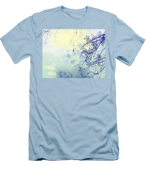 To The Waiting One Men's T-Shirt (Slim Fit) by Trilby Cole