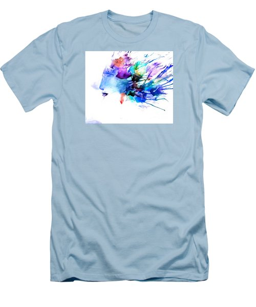Men's T-Shirt (Slim Fit) featuring the painting Tortured Ways by Denise Tomasura