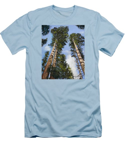 Towering Sequoias Men's T-Shirt (Athletic Fit)