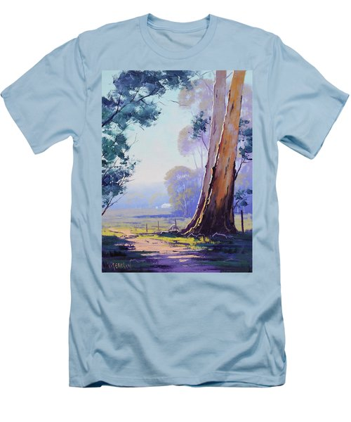 Track To The Farm Men's T-Shirt (Athletic Fit)