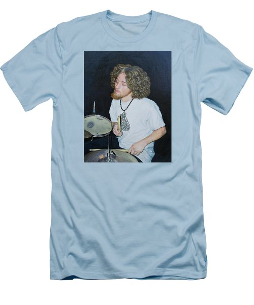 Transported By Music Men's T-Shirt (Slim Fit) by Michele Myers