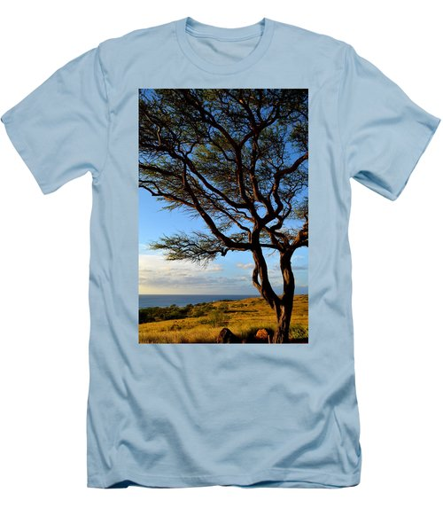 Tree At Lapakahi State Historical Park Men's T-Shirt (Athletic Fit)