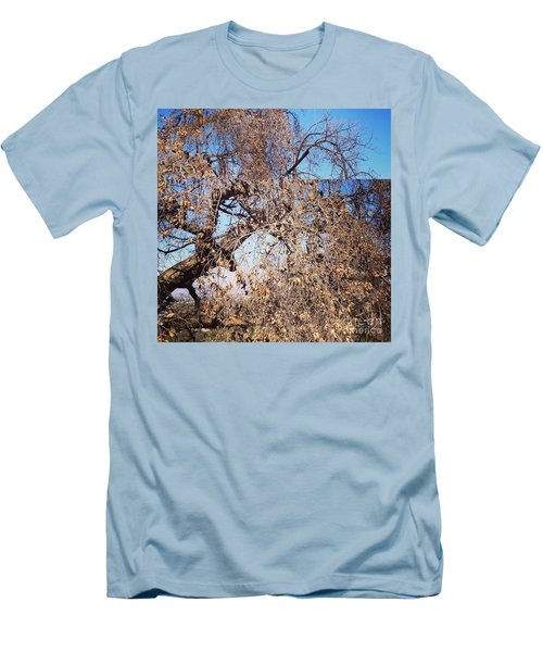 Tree Bow And Dance Men's T-Shirt (Slim Fit)