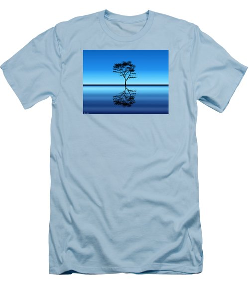 Men's T-Shirt (Slim Fit) featuring the photograph Tree Of Life by Bernd Hau
