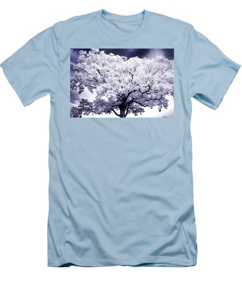 Men's T-Shirt (Slim Fit) featuring the photograph Tree by Paul W Faust - Impressions of Light