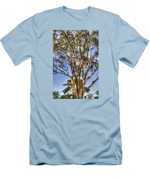 Tree To The Heavens Men's T-Shirt (Athletic Fit)