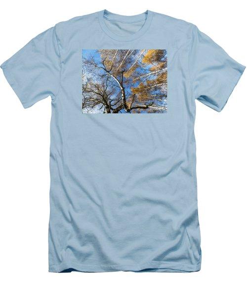 Trees Grow To The Sky Men's T-Shirt (Slim Fit) by Odon Czintos