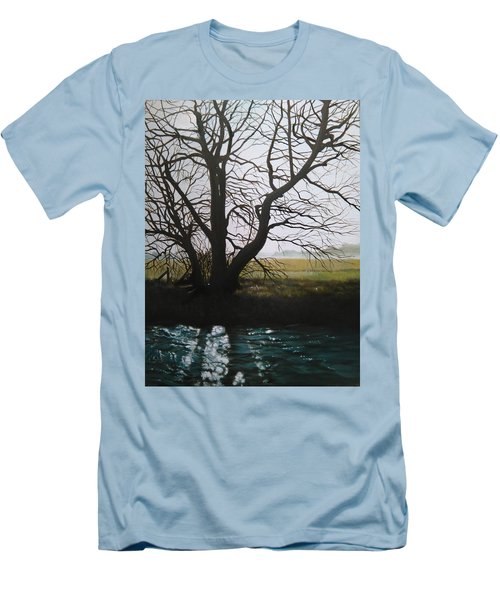 Trent Side Tree. Men's T-Shirt (Athletic Fit)