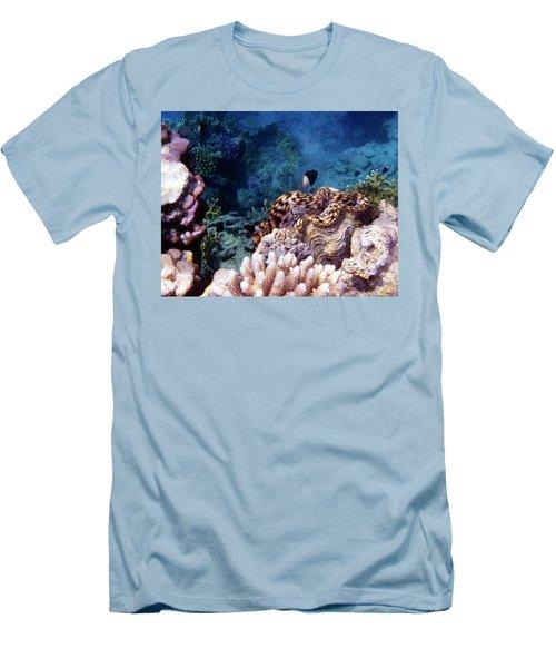 Tridacna Squamosa  Men's T-Shirt (Athletic Fit)
