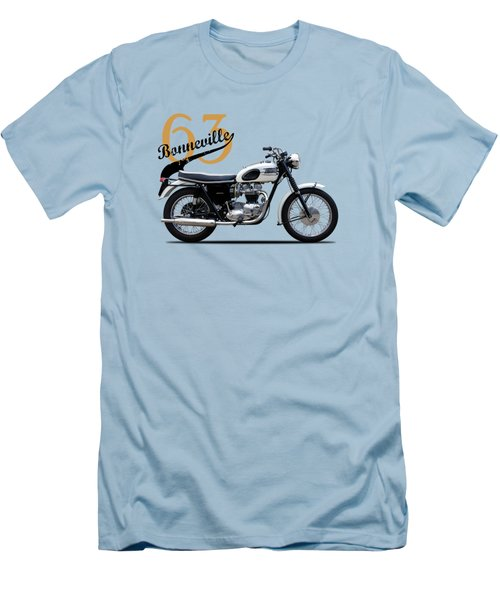Triumph Bonneville 1963 Men's T-Shirt (Slim Fit)