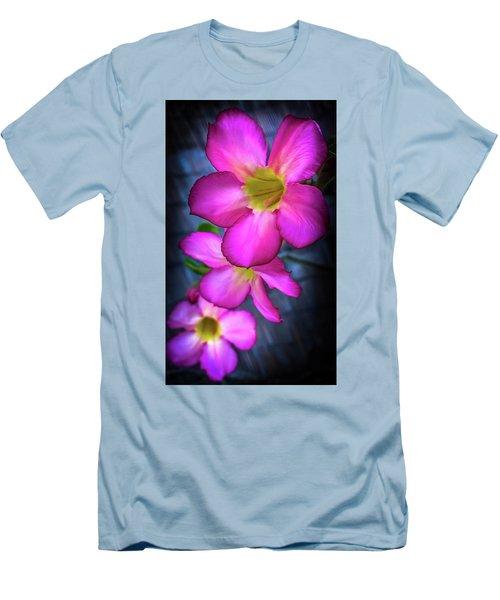 Tropical Bliss Men's T-Shirt (Slim Fit) by Karen Wiles