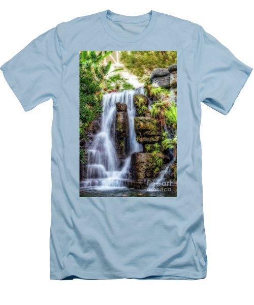 Tropical Falls Men's T-Shirt (Athletic Fit)