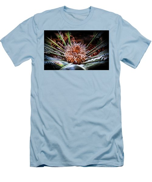 Men's T-Shirt (Slim Fit) featuring the photograph Tropical Moments by Karen Wiles