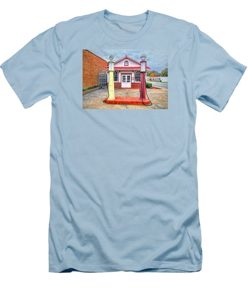 Trucking Museum Men's T-Shirt (Slim Fit) by Marion Johnson