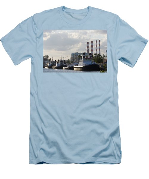 Tugs Men's T-Shirt (Athletic Fit)
