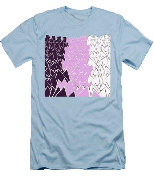 Tulip Field Men's T-Shirt (Athletic Fit)