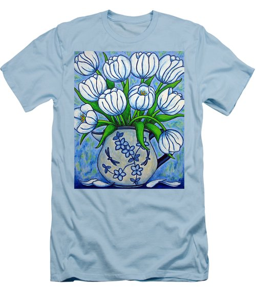 Tulip Tranquility Men's T-Shirt (Athletic Fit)