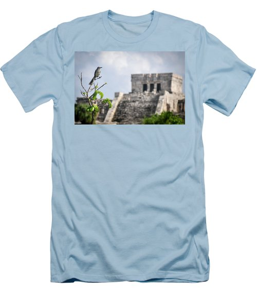 Tulum Mayan Ruins Men's T-Shirt (Athletic Fit)