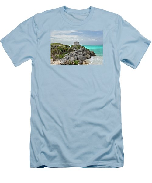 Tulum Mexico Men's T-Shirt (Athletic Fit)