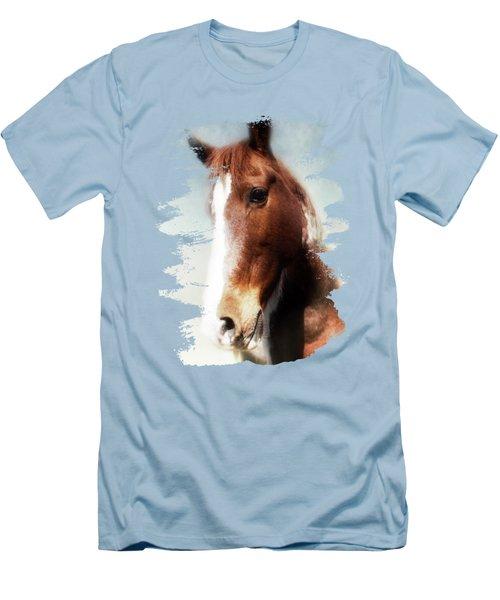 Tumbleweed Sideways Glance Men's T-Shirt (Slim Fit) by Anita Faye