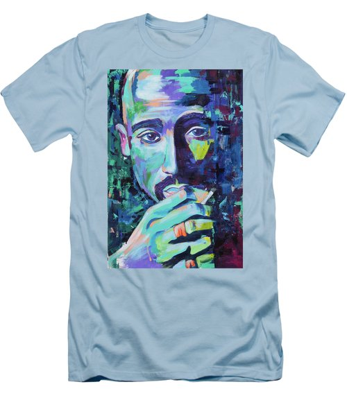 Tupac Men's T-Shirt (Athletic Fit)