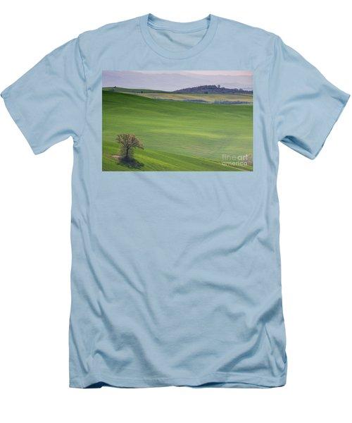 Tuscany Landscape Men's T-Shirt (Slim Fit) by Ana Mireles