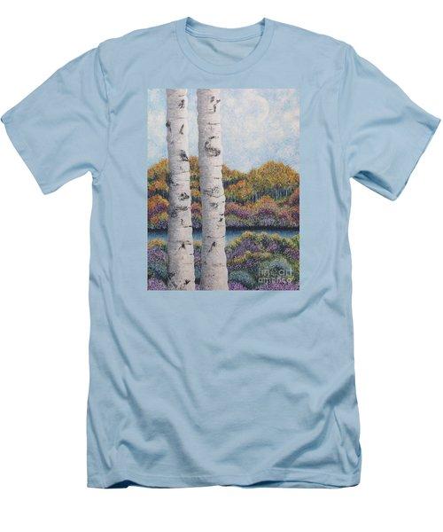 Twin Aspens Men's T-Shirt (Slim Fit)