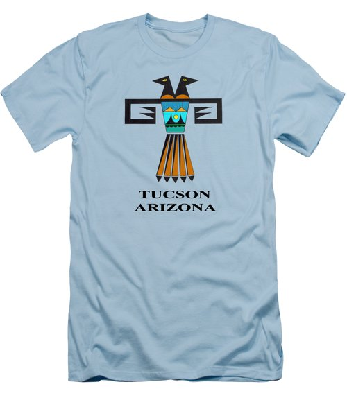 Two-headed Bird Tucson, Az Men's T-Shirt (Slim Fit) by Vagabond Folk Art - Virginia Vivier