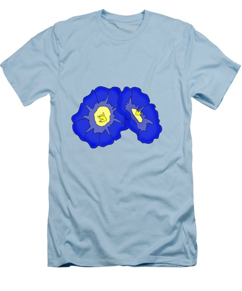 Two Morning Glories Men's T-Shirt (Athletic Fit)