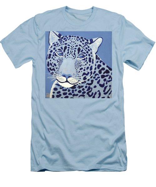 Ultramarine Jaguar Men's T-Shirt (Athletic Fit)